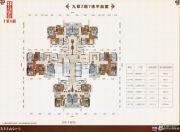 鹤山十里方圆3室0厅0卫68--109平方米户型图