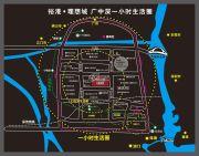 裕港理想城交通图