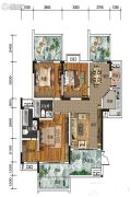 南方格林雅墅3室2厅2卫95平方米户型图