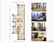 和居壹海江山3室2厅1卫0平方米户型图