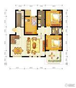 水静界3室2厅2卫186平方米户型图