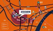 武汉自贸城交通图
