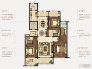 石湖天玺3室2厅3卫191平方米户型图