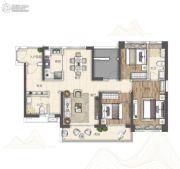 广州亚运城3室2厅2卫126平方米户型图