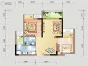 金融街金悦熙城2室2厅1卫0平方米户型图