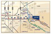 绿地国宝21城交通图