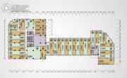 荔园地产中心0平方米户型图
