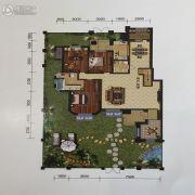 金地艺境3室2厅2卫161平方米户型图