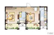 农房・英伦尊邸1室1厅1卫67平方米户型图