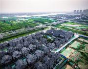 河洛古城外景图