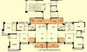 中澳滨河湾4室2厅3卫166平方米户型图