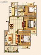 仁和景苑3室2厅1卫105平方米户型图