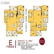 龙祥苑小区4室4厅4卫249平方米户型图