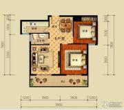 恒弘城2室2厅1卫0平方米户型图