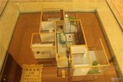 富力城英伦庄园1室2厅1卫49平方米户型图