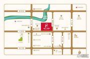绿城・玫瑰园交通图