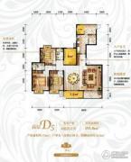 保利香槟国际4室2厅2卫193平方米户型图