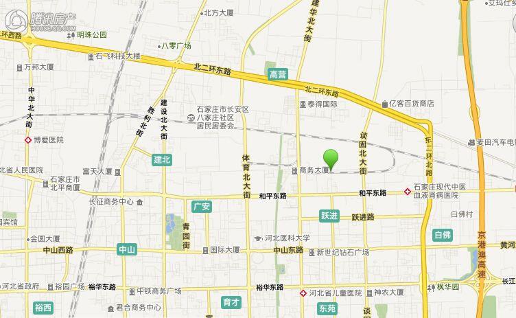 长安燕来城——区位图