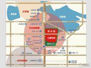 水墨江郡秀水街交通图