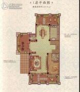 兰州・大名城4室3厅1卫62平方米户型图