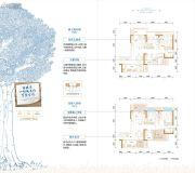 金茂国际生态新城3室2厅2卫93平方米户型图
