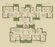 开平・东汇城3室2厅2卫88--142平方米户型图