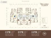 美的・拉德芳斯3室2厅2卫0平方米户型图