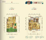月潭壹英里3室2厅2卫119平方米户型图