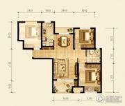 永定河孔雀城英国宫3室1厅1卫0平方米户型图