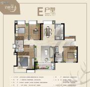 冠科・泊樾湾4室2厅2卫0平方米户型图