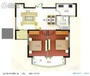 汇仙湖・金水湾2室2厅1卫0平方米户型图