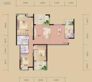 海赋长兴3室2厅2卫90--117平方米户型图