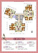 金帝世纪城77--99平方米户型图