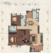和信北郡3室3厅2卫118平方米户型图