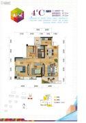 长业・天江城3室2厅1卫74--87平方米户型图