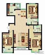 燕西台3室2厅2卫135平方米户型图