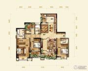 紫御江山4室2厅3卫0平方米户型图
