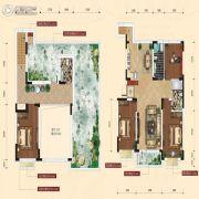 融城7英里3室2厅2卫126平方米户型图