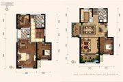 天朗蔚蓝东庭4室2厅3卫117--126平方米户型图