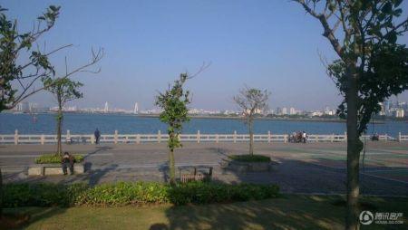 海南恒大海口湾外景图