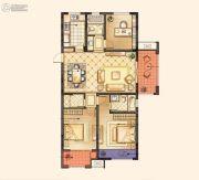 红豆香江豪庭0室0厅0卫124平方米户型图