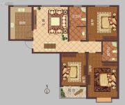 豫大・香港城3室1厅2卫143平方米户型图