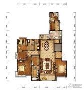 金融街融御4室2厅4卫183平方米户型图