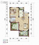 天籁谷1室1厅1卫50平方米户型图