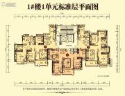 随州恒大御府3室2厅2卫0平方米户型图
