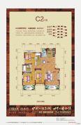 威尼斯水景城3室2厅2卫121平方米户型图
