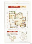 潮州恒大名都3室2厅2卫112平方米户型图