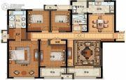 长申玉4室2厅2卫182平方米户型图