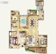 保利达・江湾南岸6室2厅4卫262平方米户型图