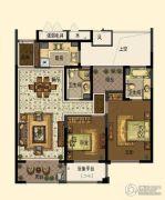 中交・南山美庐2室2厅2卫100平方米户型图